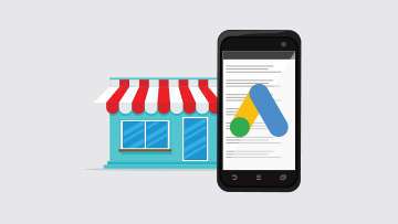 google ads per business locale