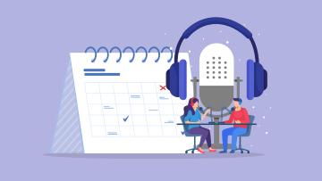 podcast pianificazione e piano editoriale